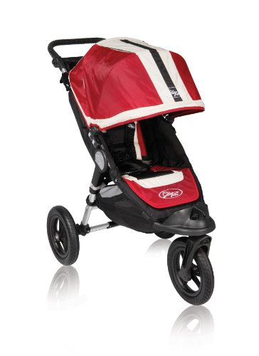 Baby Jogger City Elite Single Stroller, Red Sport