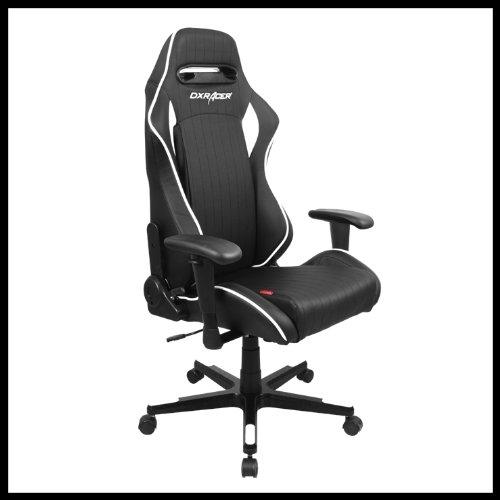 Dx racer oh df51 nw oficina silla pvc reclinable esport - Silla oficina reclinable ...