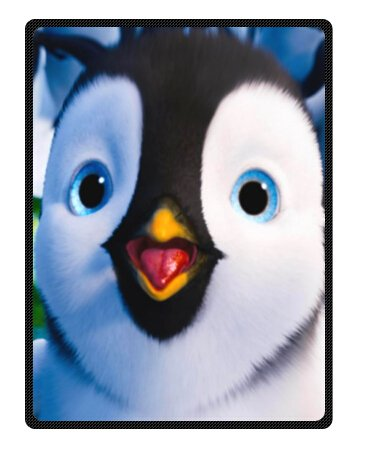 "Funny Christmas Penguins Fleece Blankets 58"" X 80"" (Large)"