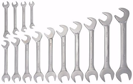 Northern Industrial Angle Wrenches - 14-Pc SetB0000AXB86 : image