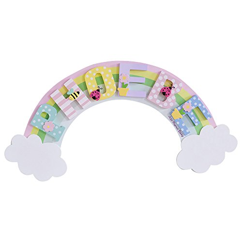 JoJo Maman Bebe Door Plaque, Rainbow