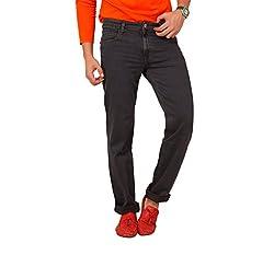 Carrie Men's Regular Fit Jeans (CJ_B258_Grey_44)