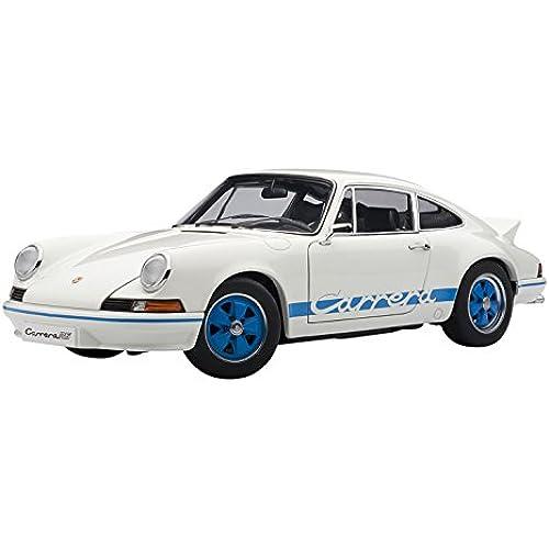 AUTOart 1/18 포르쉐 911 카 레라  RS 2.7 '73 (화이트・블루)-78052