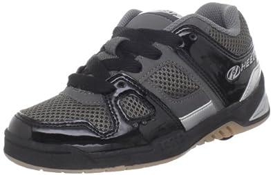 Heelys Override Skate Shoe (Little Kid/Big Kid),Black/Charcoal/Silver,12 M US Little Kid
