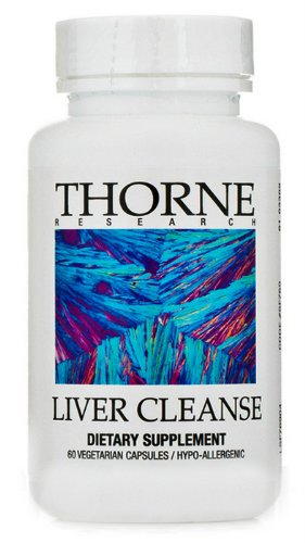 Thorne Research - Liver Cleanse 60 Vegicaps front-20589