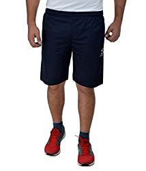 Surly Navy Blue Plain DK-1 Polyester Shorts