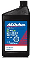 ACDelco 10-9066 Dexos1 5W-30 Motor Oil - 1 qt from ACDelco