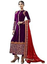 Suit By Kmozi (Purple)