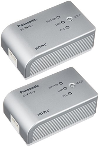 パナソニック Plcアダプター スタートパック 据置型 Bl-pa510kt
