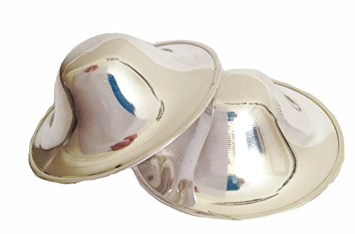Nipplease Silver Cups/Shields - Sooth & Heal Cracked Nipples for Breastfeeding Moms