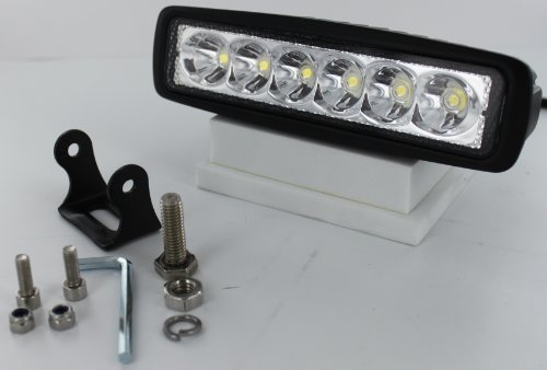 "Luxwurx 18 Watt 6 Led 6"" Mini Light Bar - Spot"