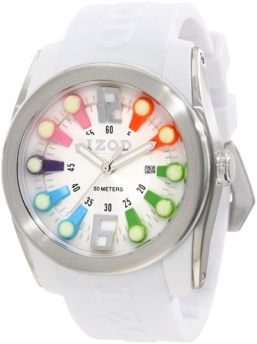 IZOD Men's IZS1/9 RAINBOW Sport Quartz 3 Hand Watch