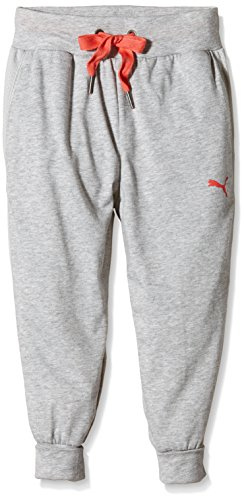Puma Mädchen Hose Active Move Hip Hop Pants, Light Gray Heather, 176, 834206 04