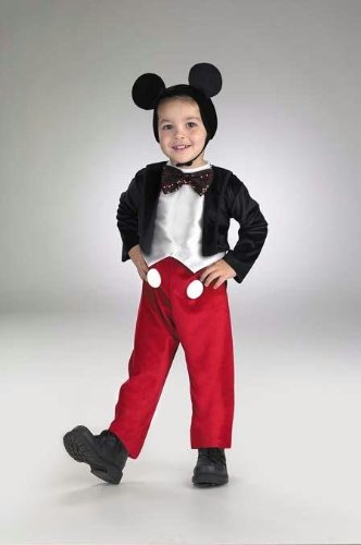 Costumes For All Occasions Dg5027L Mickey Mouse Deluxe 4 To 6