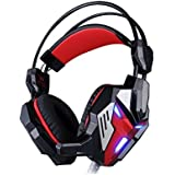 Darkiron N5000 2015 New 3.5mm Over Ear Stereo Gaming Headset With In-line Wheel Control For Volume And Mic Perfect... - B010HNZGF8