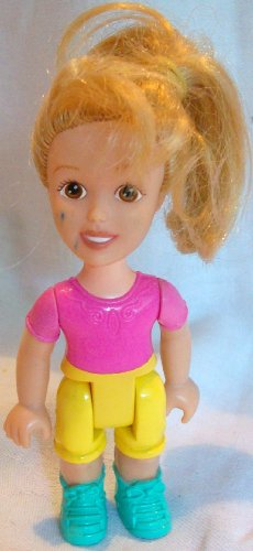 Buy Low Price Mattel Fisher Price Little People Garden Tea Party Girl Replacement Figure Doll Toy (B002HVTC0O)