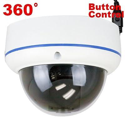 "GW High End 1/3 "" SONY 960H Exview HAD II CCD 360? Fisheye Lens 700 TVL OSD Menu Digital WDR Function CCTV Surveillance Security Camera"