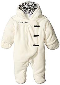 Calvin Klein Baby-Girls Newborn Hoode…