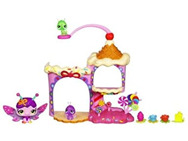 Littlest Pet Shop Fairies Candy Swirl Dreams Sprinkle Palace Playset