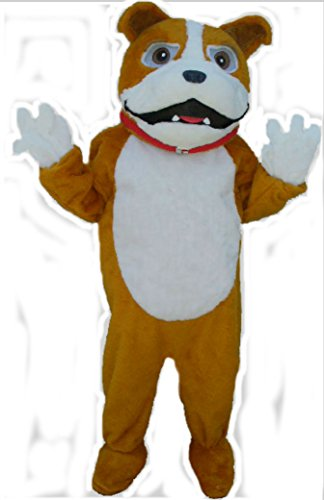 Mascots USA by CJs Huggables Custom Professional Low Cost Bulldog Mascot Costume