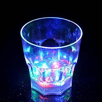 BuW LED Flash Octagon Cup Small Led Flood Lights Princess Night Light Deco