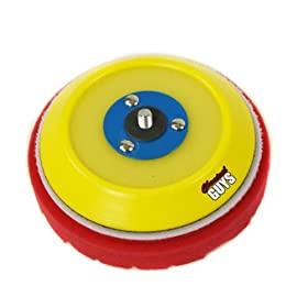 Chemical Guys BUFLCBPDA5 Dual-Action Hook and Loop Molded Urethane Flexible Backing Plate - 5 in.