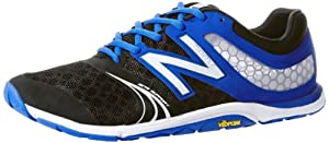 New Balance - Mens Pro Baseball Limited Edition Minimus 20v3 Minimal X-training Shoes, UK: 10.5 UK - Width 2E, Black with Team Royal & White
