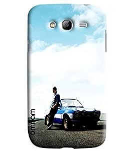 Omnam Paul Walker From Fast And Furious Pose Designer Back Cover Case For Samsung Galaxy Grand i9082