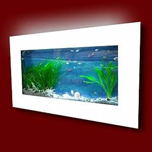 Aussie aquariums wall mounted aquarium for Fish tank decorations amazon