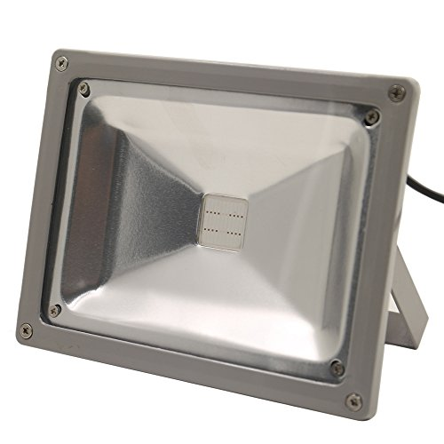 LVJING Led Grow Light Bulb, Hanging Flood light Kit, Waterproof, for Indoor Garden Greenhouse Hydroponic Plants, 20W ¡ (Infrared Heater 600w compare prices)
