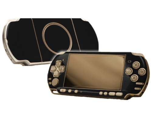 Sony-PlayStation-Portable-3000-PSP-3000-Skin-NEW-MATTE-BLACK-system-skins-faceplate-decal-mod-by-System-Skins