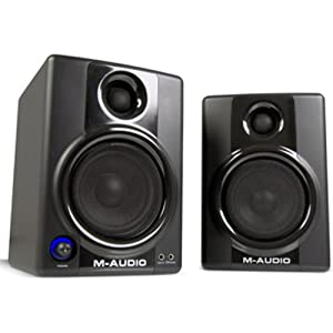41YLrKZYZ6L. SL500 AA300  M Audio Studiophile AV 40 Powered Speakers   $120