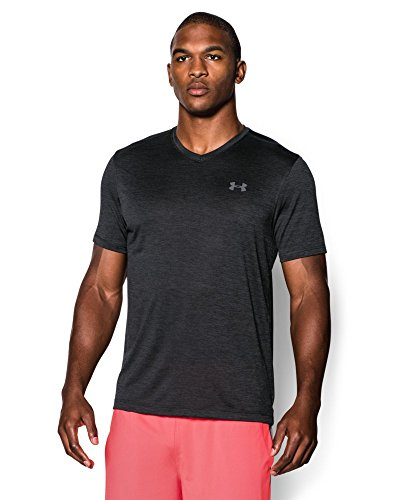 Under Armour Men's Tech V-Neck T-Shirt, Black (001), Small
