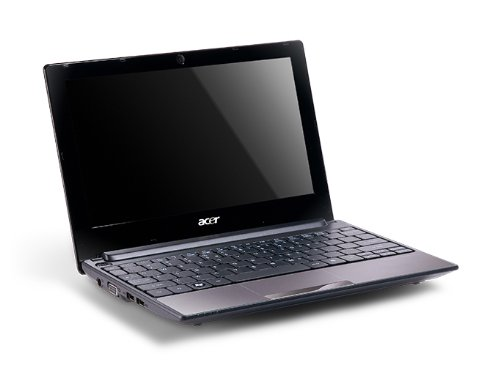 Acer Aspire One D255 10.1 inch Netbook (Intel Atom Dual-Core N550 Processor, 1GB RAM, 250GB HDD, Wifi, Webcam, 8hrs battery life, Windows 7 Starter & Android) - Sandstone Brown