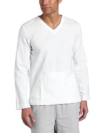 American Essentials Men's Blend V-Neck Pullover Sweater, Ceramic, X-Large