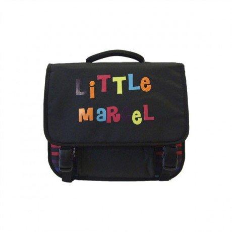 Little Marcel Zaino Scuola, NOIR LITTLE (Nero) - H15ABAG0662