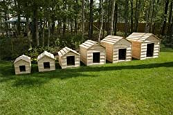 Cedar Dog House - Miniature Breeds Size
