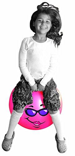 Jumping Hopper Hopping Hippity Hop Ball Ages 3-6 (Small Hopper Ball) - 1
