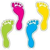 Carson Dellosa Footprints Cut-Outs (120083)
