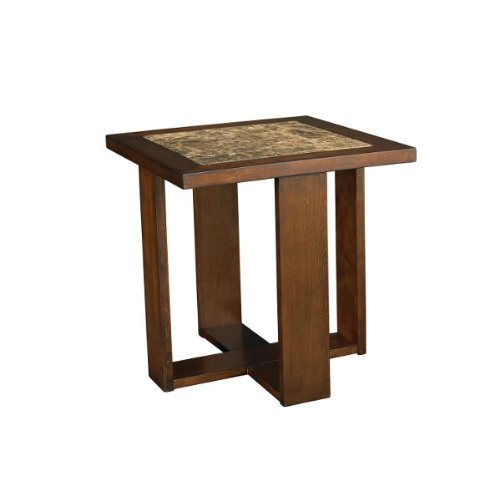 Image of Marika Square End Table- Kd (T20900-T2090810-00)