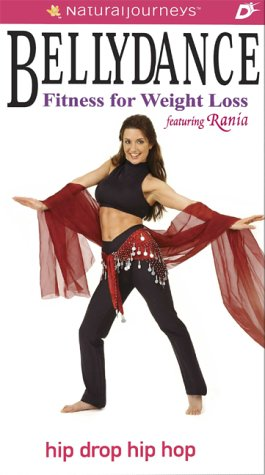 Bellydance Fitness for Weight Loss featuring Rania: Hip Drop Hip Hop [VHS]