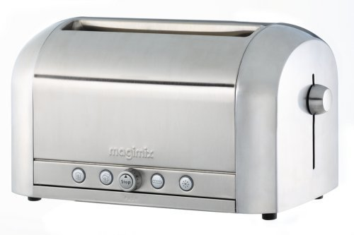 2 X Magimix 4 slice toaster polished from Magimix