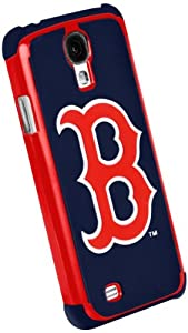 Forever Collectibles Boston Red Sox Rugged Dual Hybrid Samsung Galaxy S4 Case by Forever Collectibles