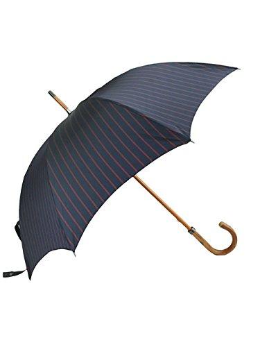 (マリア フランチェスコ) Maglia Francesco ネイビー&レッドストライプ 折り畳み傘