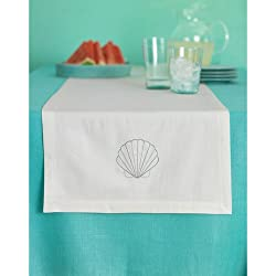 Martha Stewart Crafts Table Runner, Shells