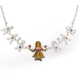 Mother with Children Necklace from the Artazia Collection #289 GN ONK