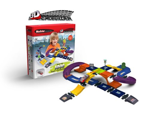 Modular 3D Construction RoadBuilder Kit