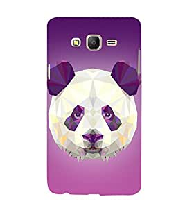 3D Vector Panda 3D Hard Polycarbonate Designer Back Case Cover for Samsung Galaxy On7 :: Samsung Galaxy On 7 G600FY