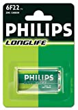 Philips Longlife 6F22 Battery