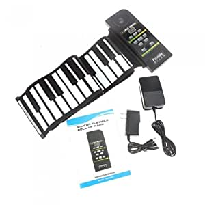 E-rainbow 88 Keys Professional Silicon rubber USB